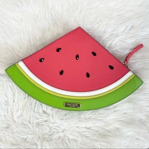Kate Spade Make A Splash Watermelon Clutch